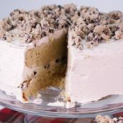 CHOCO CHIP COOKIE DOUGH LAYER CAKE