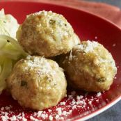 Veal Meatballs with Gorgonzola