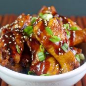 Slow Cooker Asian Spiced Chicken Wings