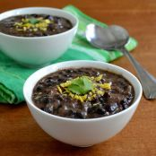 Soup - black bean soup