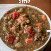 Lentil Chicken Stew