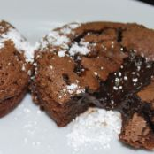 Chocolate Lava Muffins Recipe courtesy Alton Brown