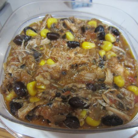 Mediterranean Chicken & Black Bean Soup