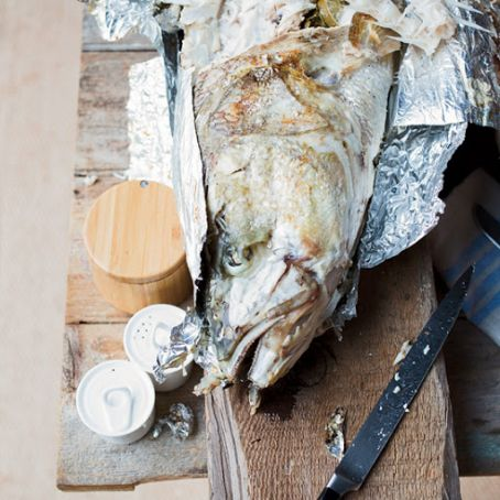 Grilled Whole Fish with Chile & Lime