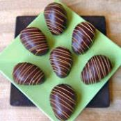 Chocolate Peanut Butter Easter Eggs