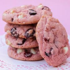 Cake Mix Cherry Vanilla Cookies