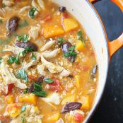 Hearty Chicken Butternut Squash & Quinoa Stew