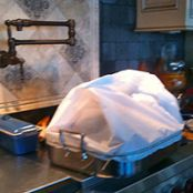 Roasting a Turkey in Parchment Paper