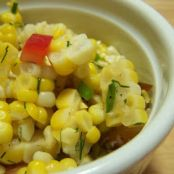 Fried Corn Salad