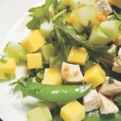 Chicken, Mango, & Sugar Snap Pea Salad