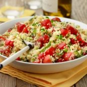 Couscous Salad with Tomatoes and Mint