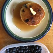 Man Pleasing Gluten Free Blueberry Pancakes