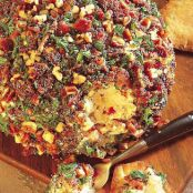 Tangy Bacon Cheeseball