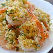 5-Ingredient Lemon Panko Shrimp