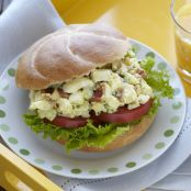 RANCH BACON & EGG SALAD SANDWICHES
