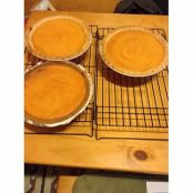 Aunt Nadine's Sweet Potato Pie