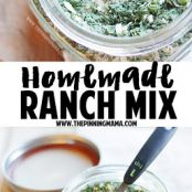 Whole30 Homemade Ranch Mix