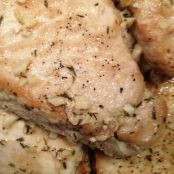 Pork Chops with Lemon Thyme sauce