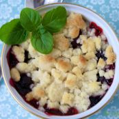 Raspberry/Blueberry Cobbler
