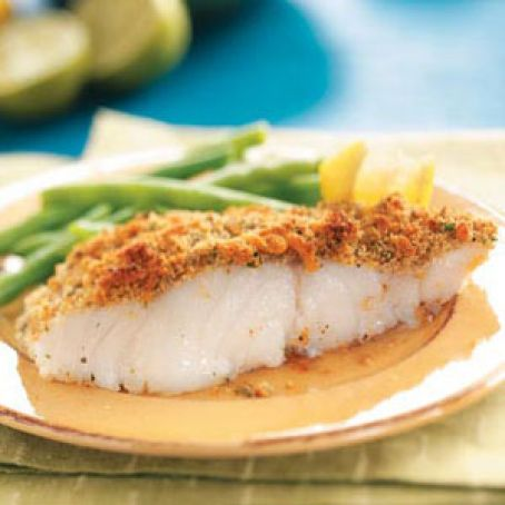 Crumb-Topped Baked Haddock Recipe