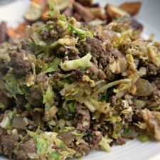 Beef and Brussels