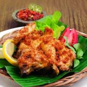 Yellow Fried Chicken Larasa