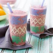 Creamy Tropical-Berry Smoothie