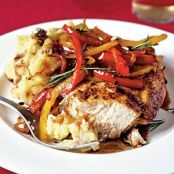 Roasted Chicken with Balsalmic Bell Peppers