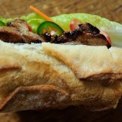 Caramelized Pork Banh Mi