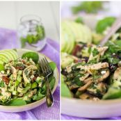 Chicken, Green Apple and Goats Feta Salad