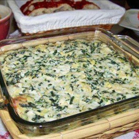 Applebee's Hot Artichoke & Spinach Dip