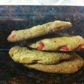 Extra Cherry Chip Cookies