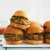Taco Burger Sliders