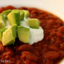 Tequila & Lime Turkey Chili