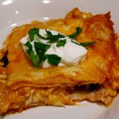 Chicken Enchilada Casserole (Low Carb)