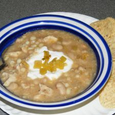 White Bean Chicken Chili  (slow cooker)