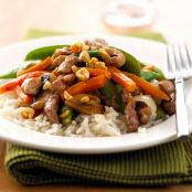 Jamaican Pork Stir-Fry