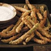 Almost-Famous Green Bean Fries