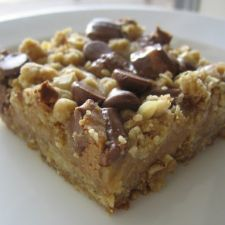 Peanut Butter & Oatmeal Dream Bars - Five Stars