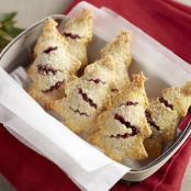 Christmas Tree Berry Hand Pies