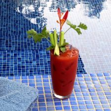 Tropical Guaro Bloody Mary