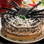 Ice Cream Spider Cake