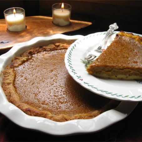 Dairy and Gluten Free Pumpkin Pie Recipe