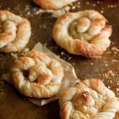Orange Sugar Danish Pastries