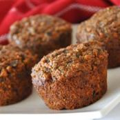 Carrot-Raisin Bran Muffins