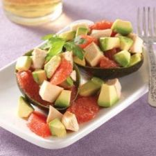 Chicken, Avocado and Grapefruit Salad