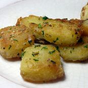 Oven Roasted Potatoes, Parmesan Garlic