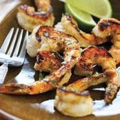 Spicy Grilled Jalapeno and Lime Shrimp Skewers