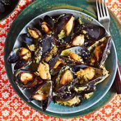 MUSSELS: Dirty Martini Mussels