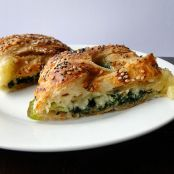 Spinach & Brie Puff Pastries